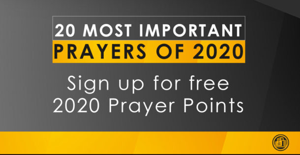 The Prayers of 2020